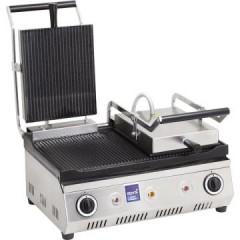 Tost Makinası Çift Kapak Oluklu Elektrikli
